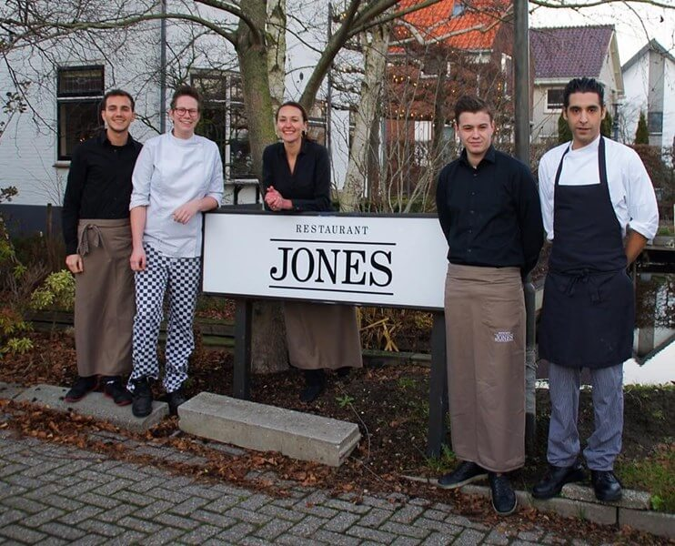 Restaurant Jones Kudelstaart, Aalsmeer