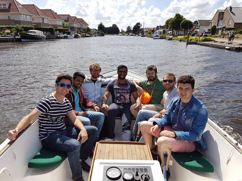 Schwegler boat rental Aalsmeer