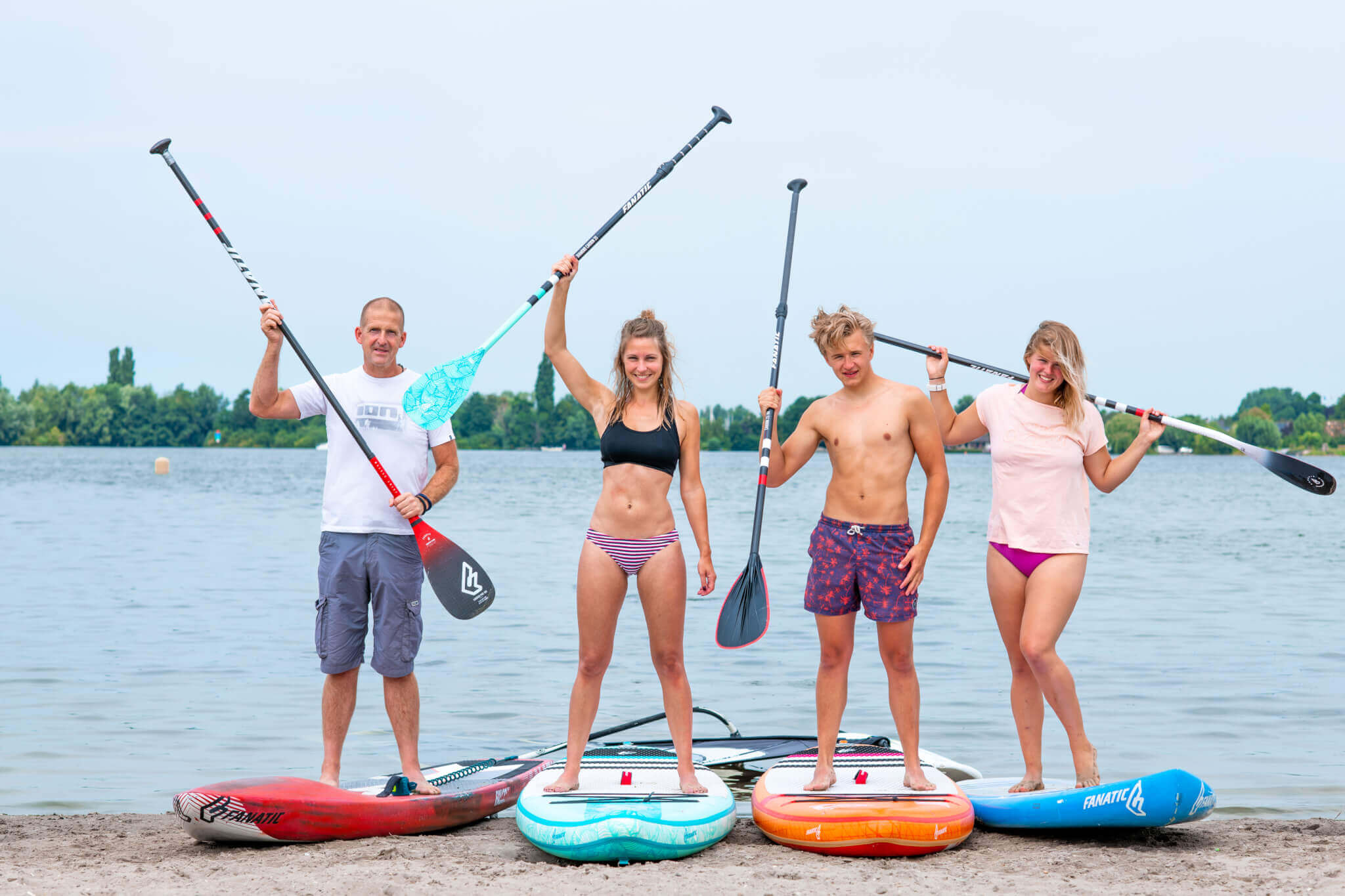 Stand Up Paddling of Suppen in Aalsmeer