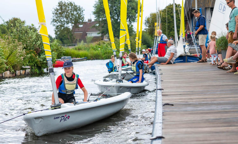 Zeilen Aalsmeer: Zeilschool Aalsmeer