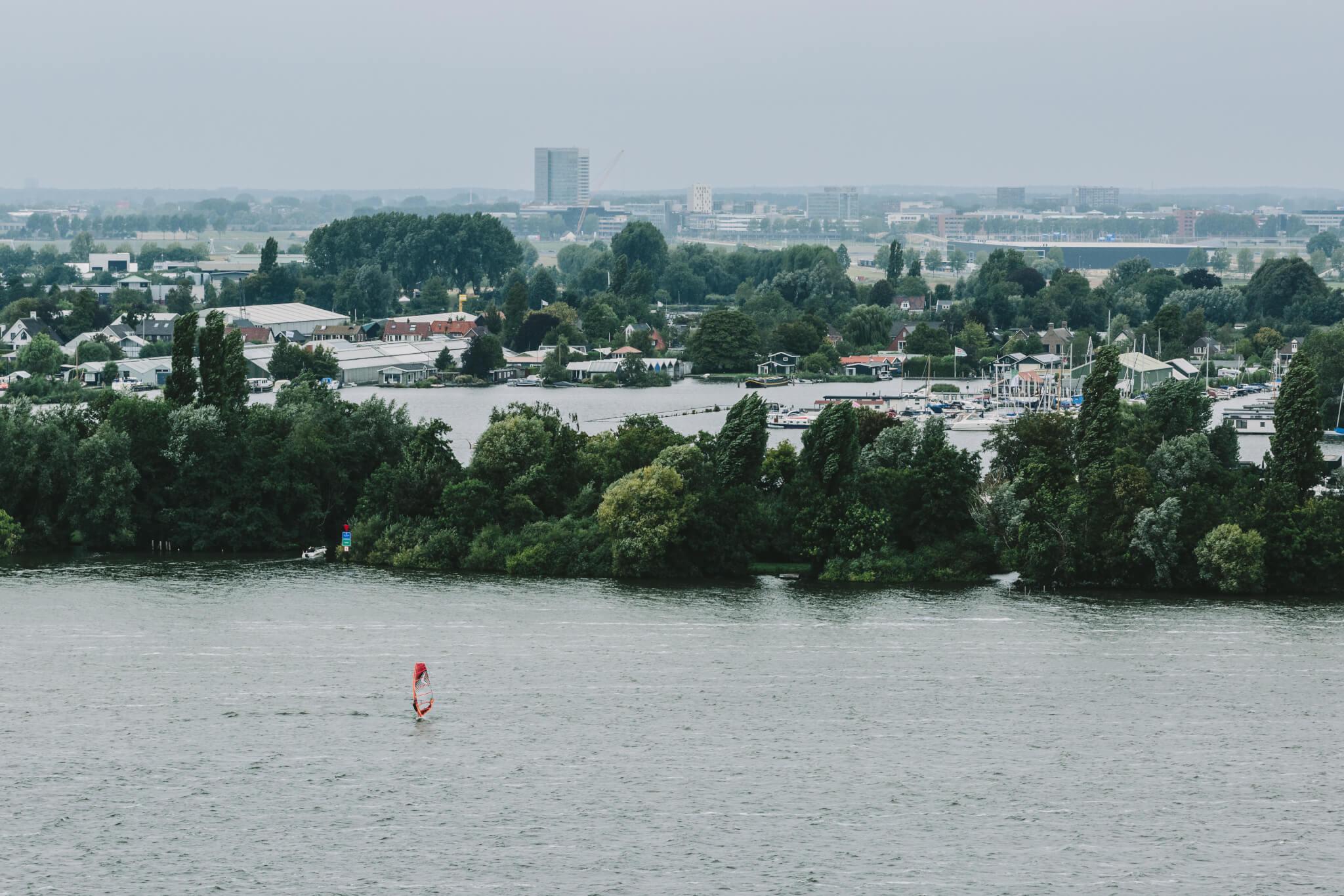 Uitzicht vanaf Watertoren Aalsmeer