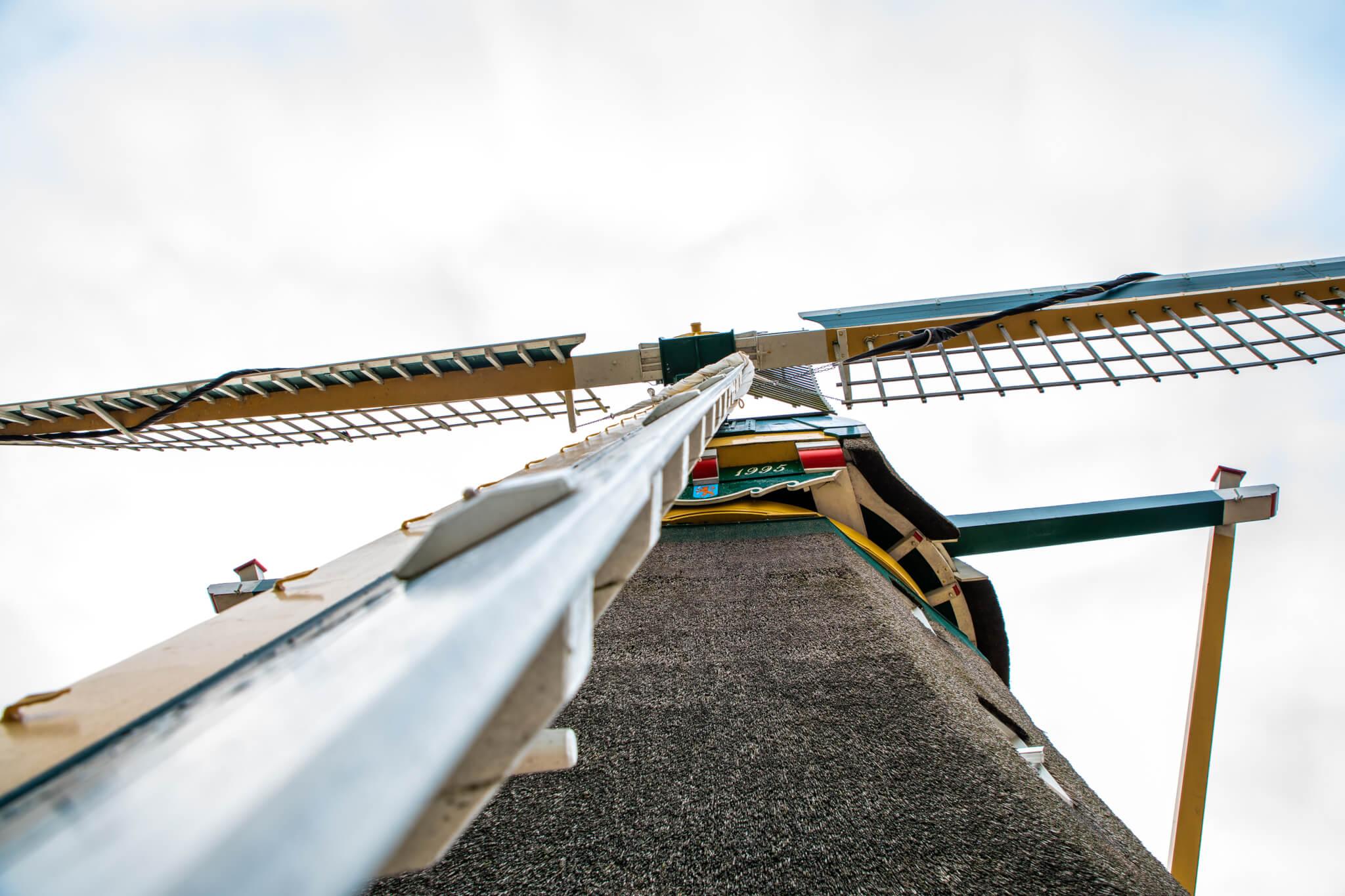 Windmill Aalsmeer centre - Korenmolen de Leeuw