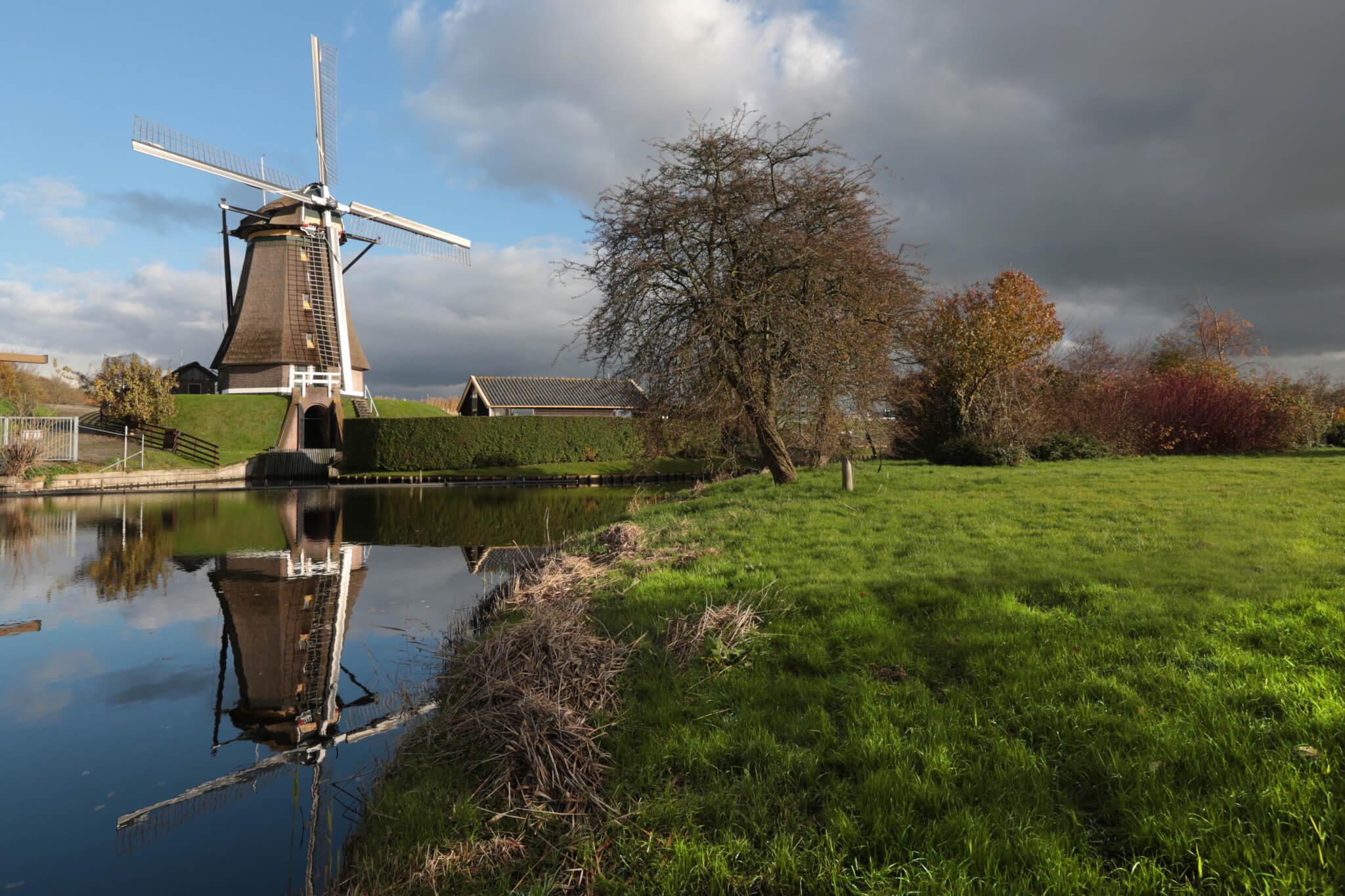 Stommeermolen windmill Aalsmeer