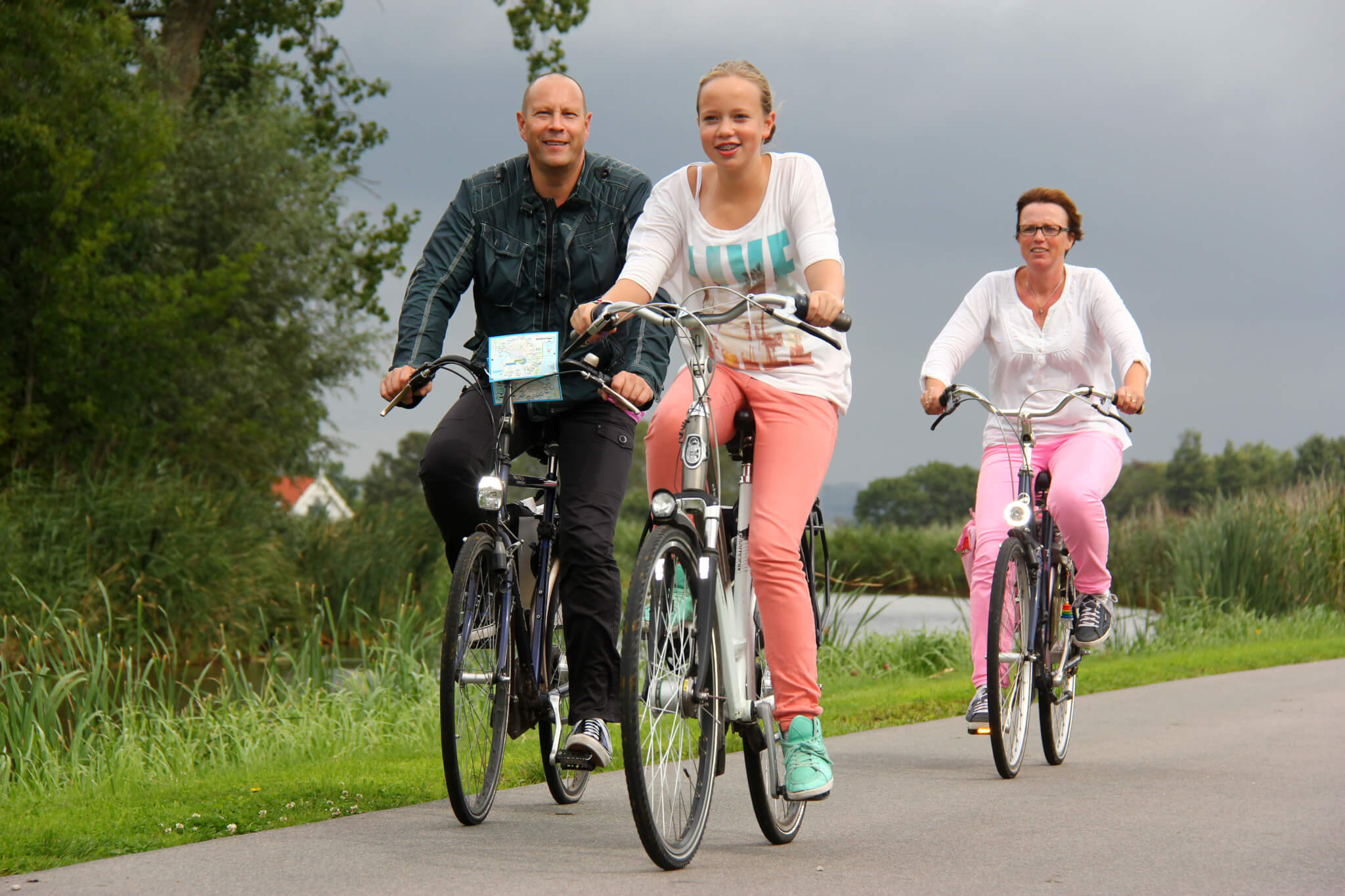 Village Tour, the bike tour through Aalsmeer and surroundings