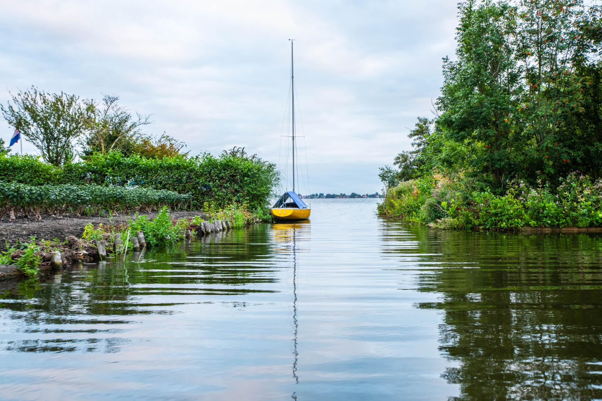 Vaar door uniek Hollands natuurgebied met Aalsmeer Rondvaart