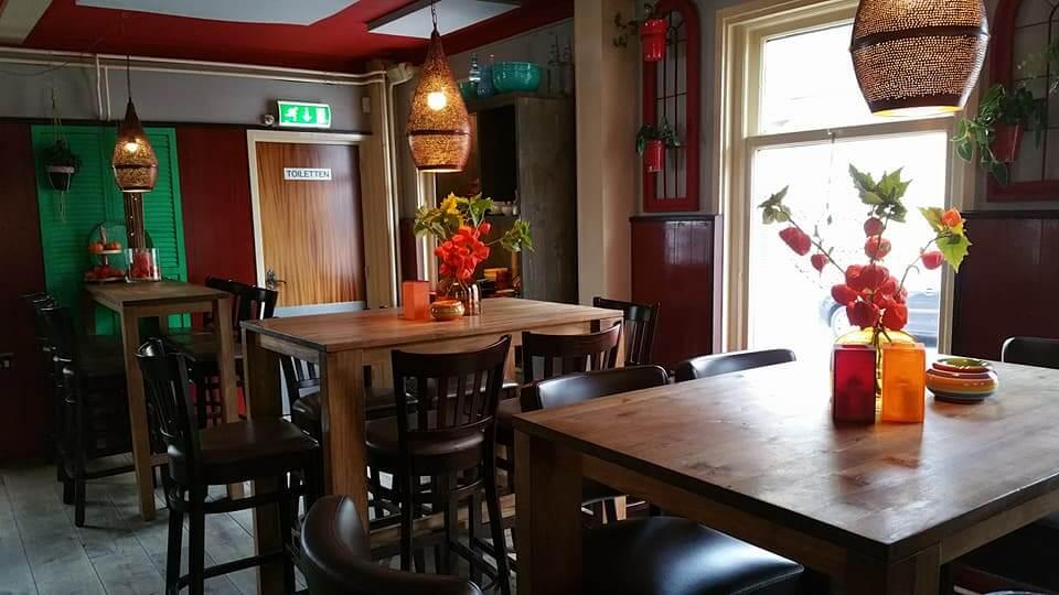 Café Lunchroom Vleghaar achter Studio's Aalsmeer