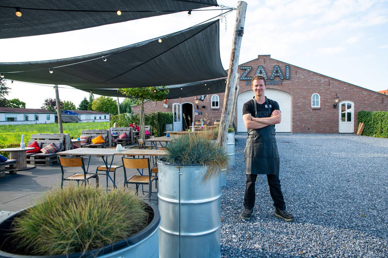 Eerlijk grill restaurant ZAAI Kweek & Eet in Aalsmeer