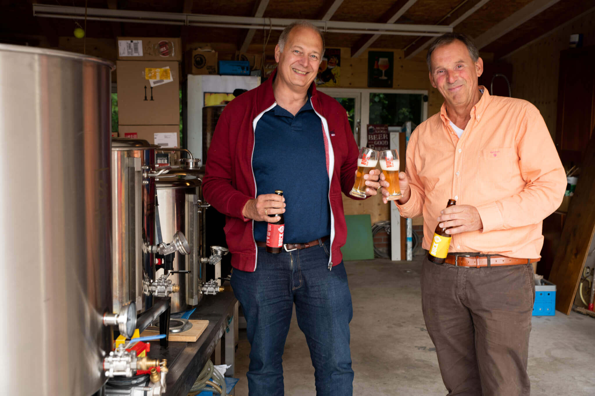 BUCK beer from De Bezwooren Kerf brewery