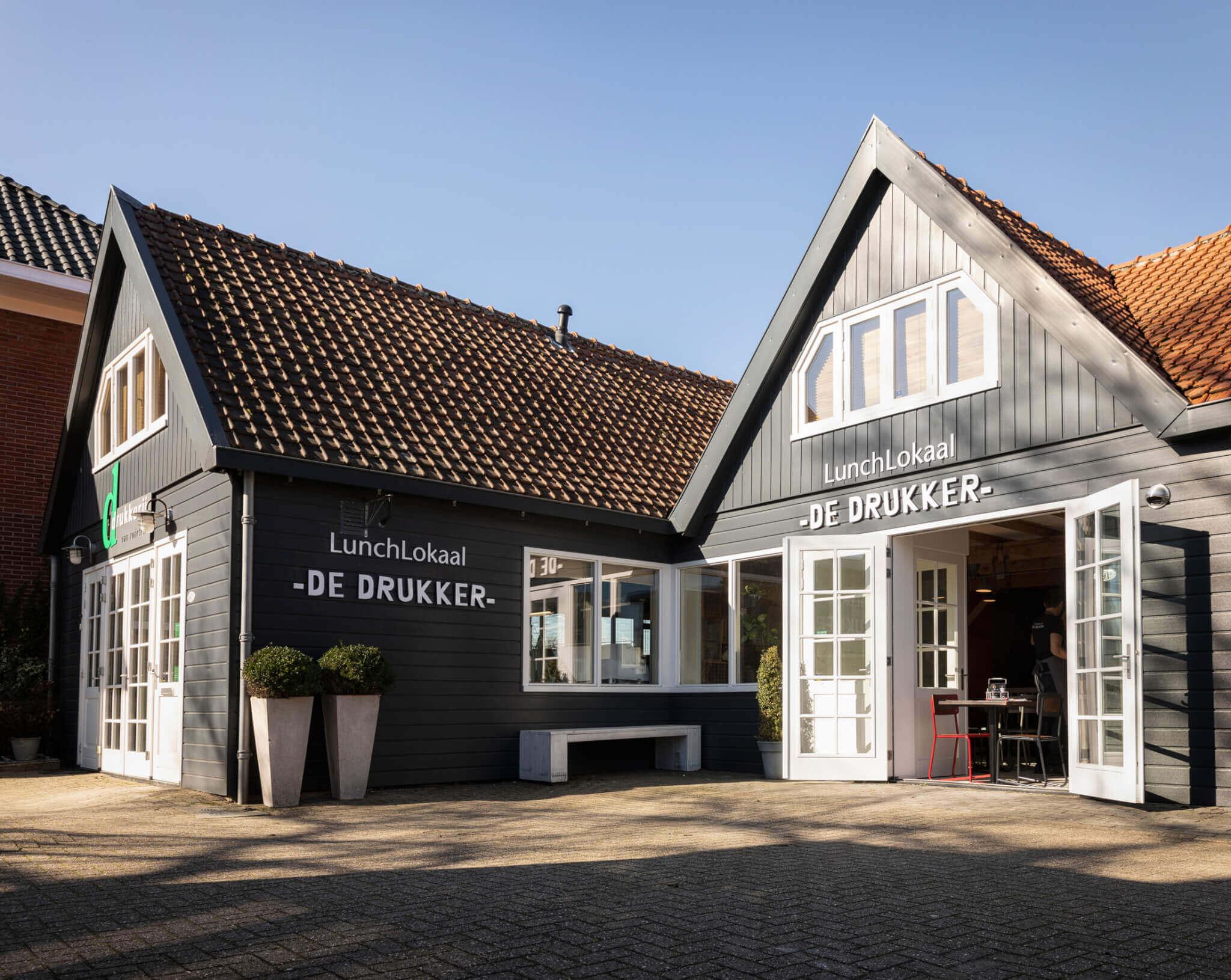 Lunch in Aalsmeer, Amsterdamse Bos: Lunchlokaal de Drukker
