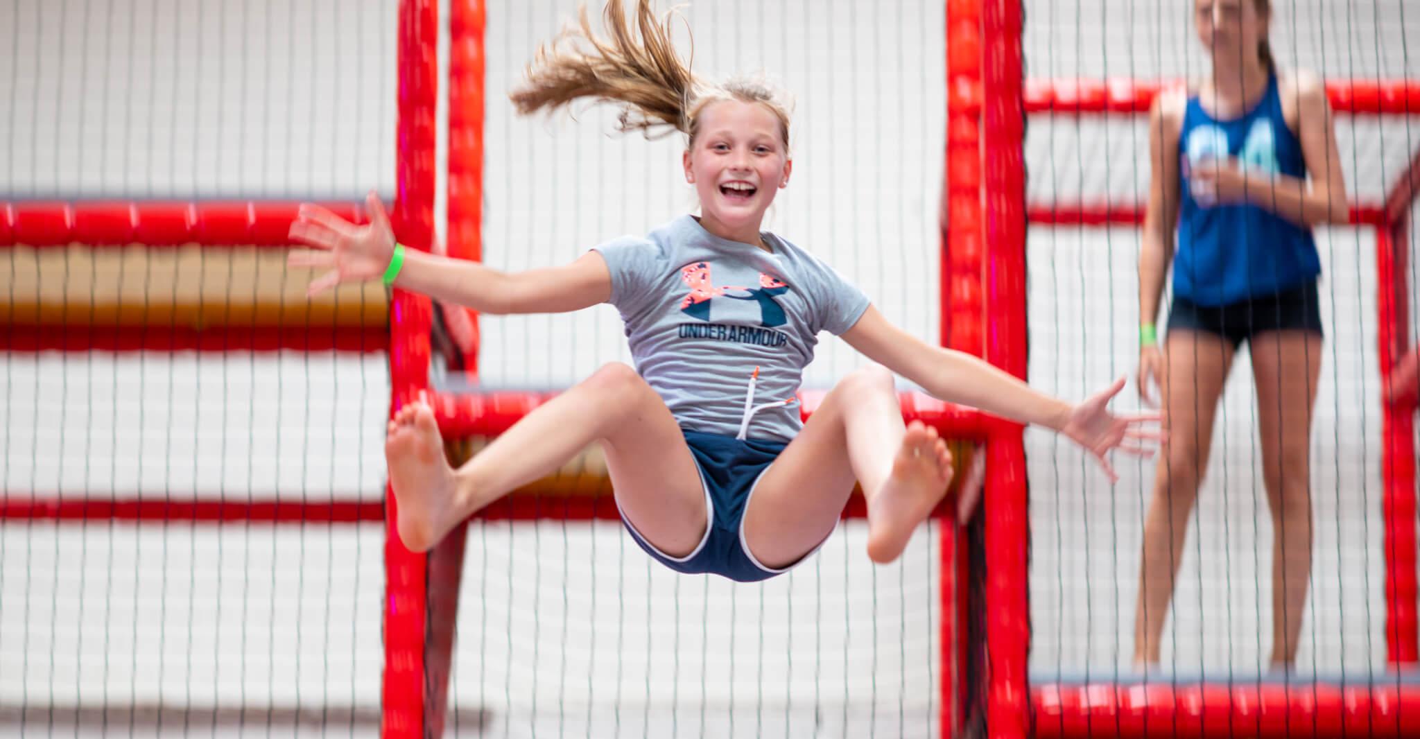 Springen bij Jump XL Aalsmeer