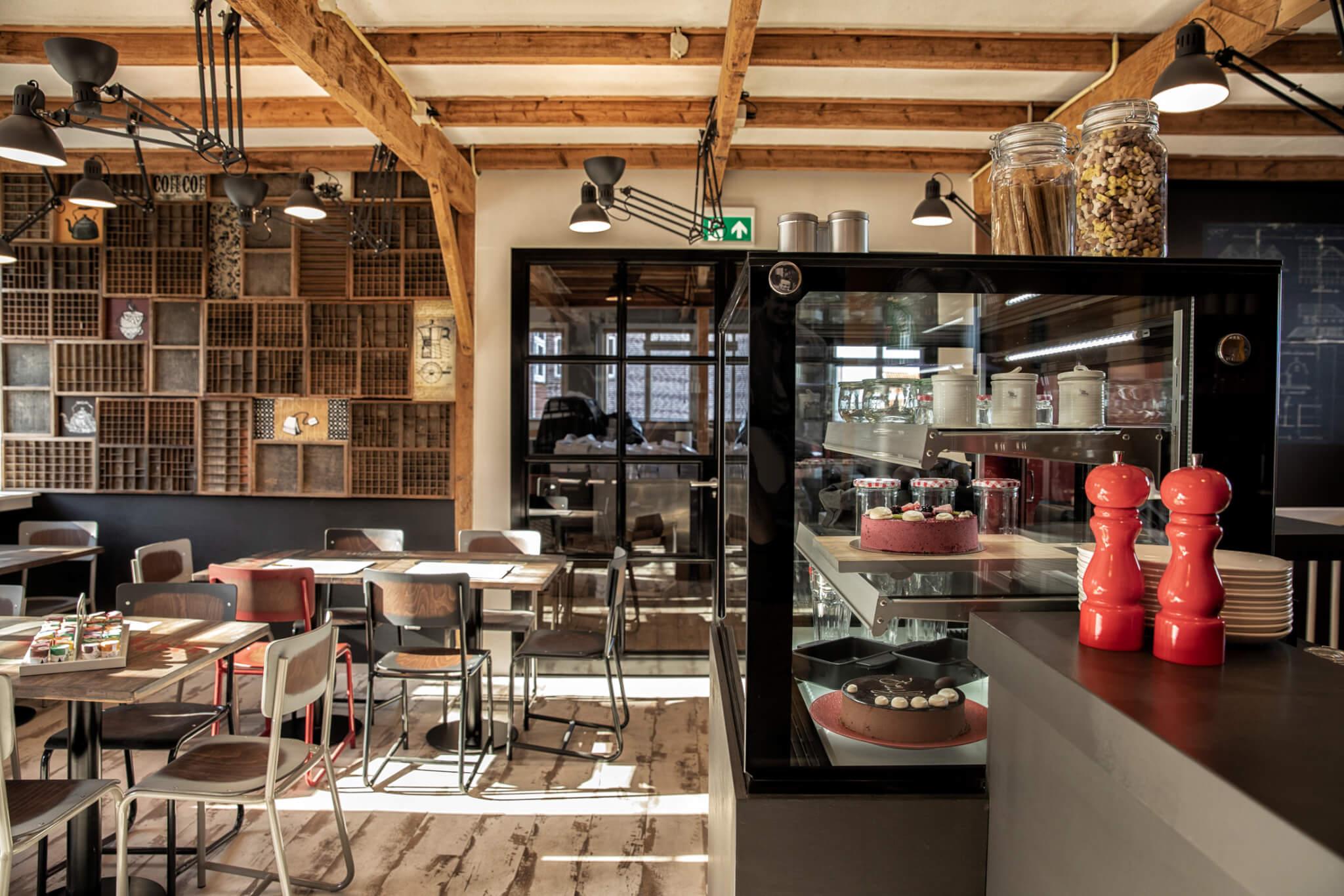 Lunchen in Aalsmeer: Lunchlokaal de Drukker