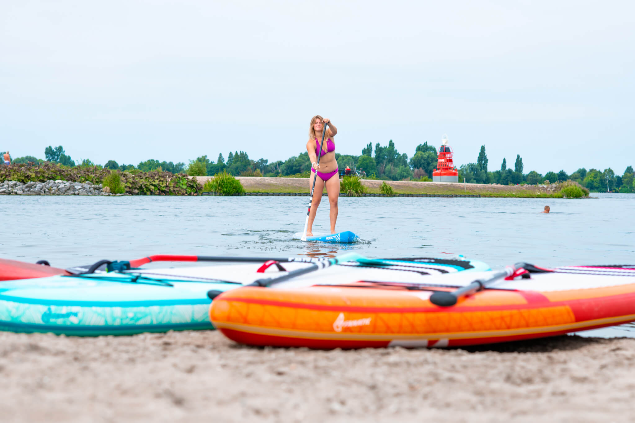 Stand Up Paddling in Aalsmeer