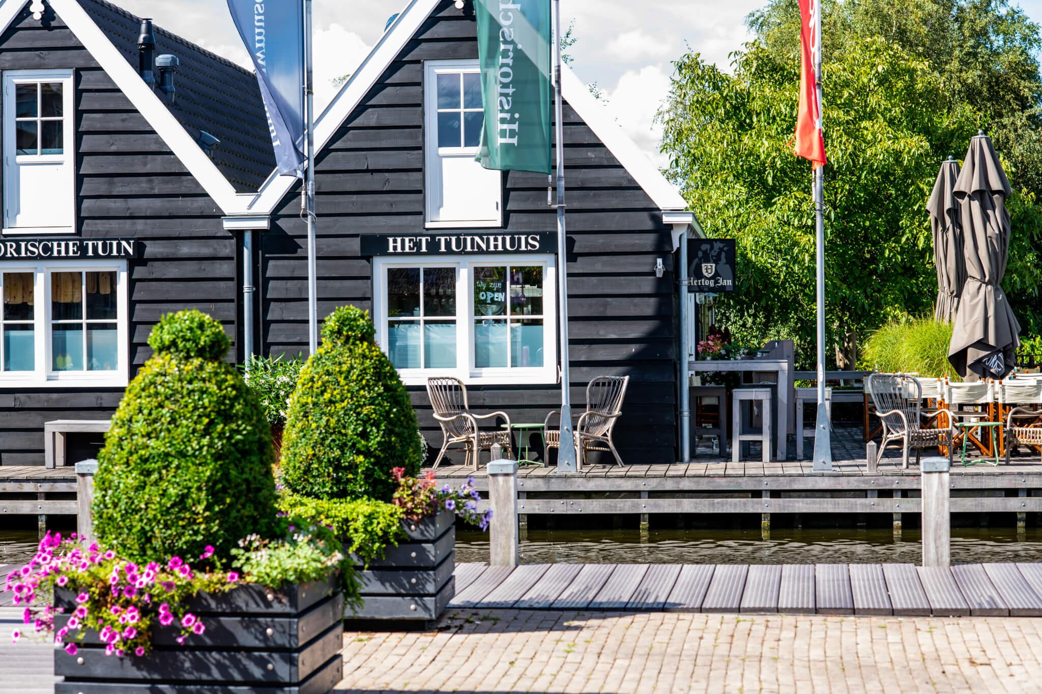 Tuinhuis Aalsmeer in Historical Garden